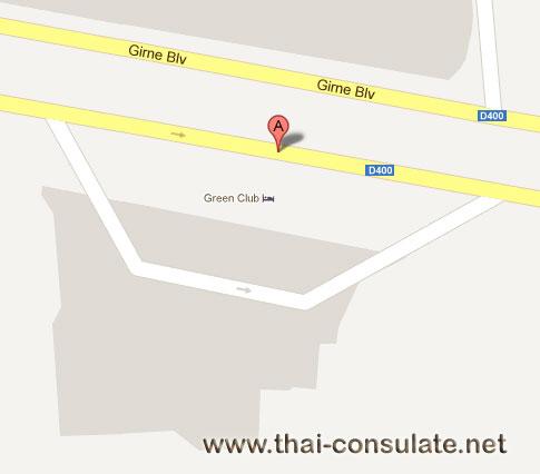 map US Consulate Adana