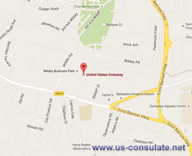US Embassy in Barbados