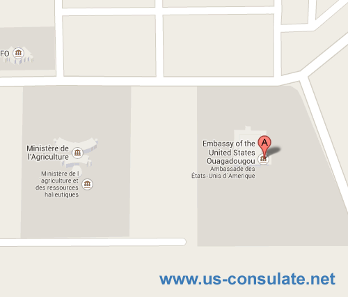 US Embassy in Burkina Faso