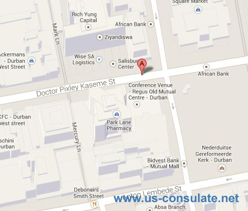US Consulate Durban