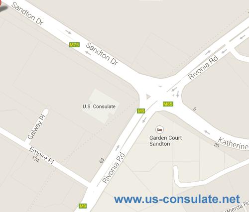 US Consulate Johannesburg
