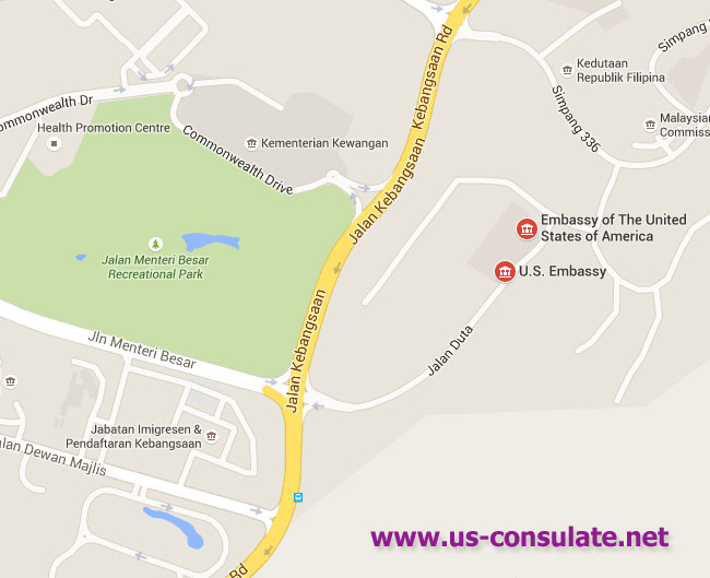 US Embassy in Brunei