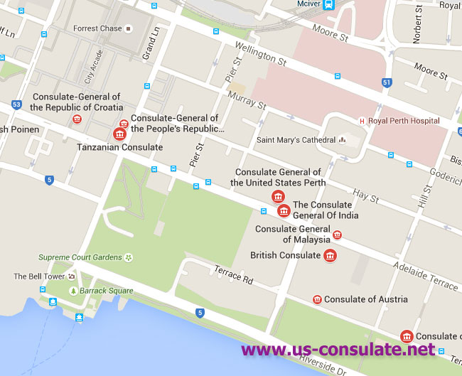 US Consulate in Perth | US Embassy